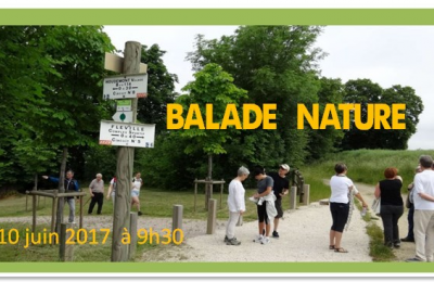 INVITATION – Balade Nature le 10 juin 2017